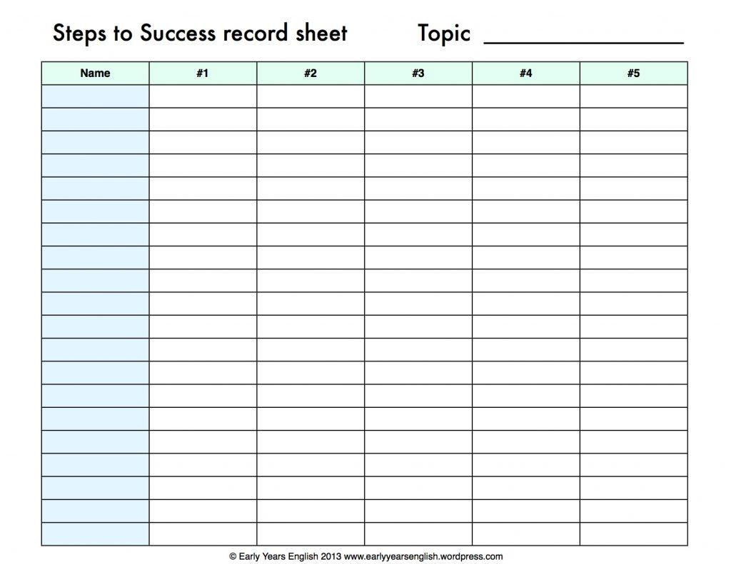 Print Spreadsheet Throughout Blank Spreadsheet Examples
