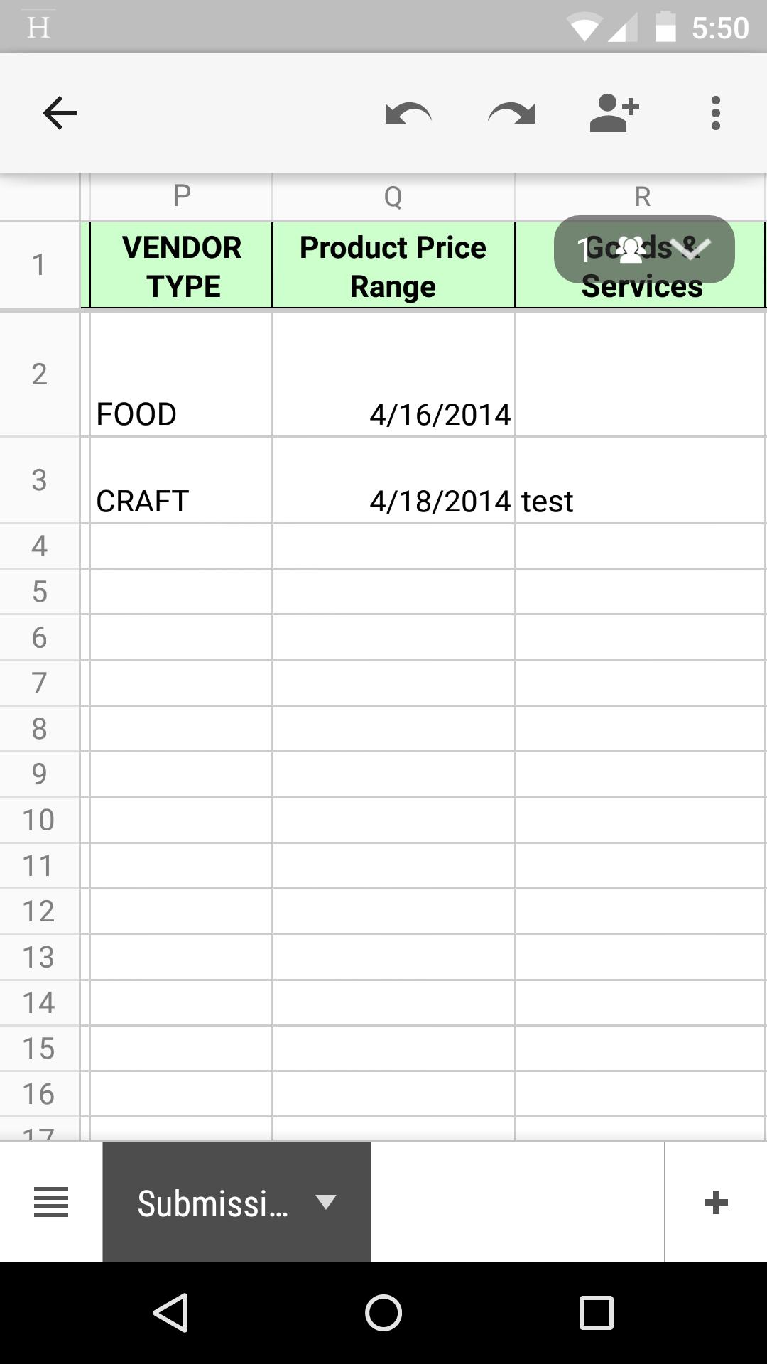 Product Pricing Spreadsheet Regarding Spreadsheet