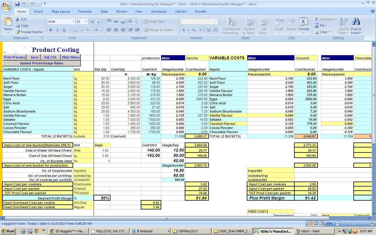 employee productivity tracker excel