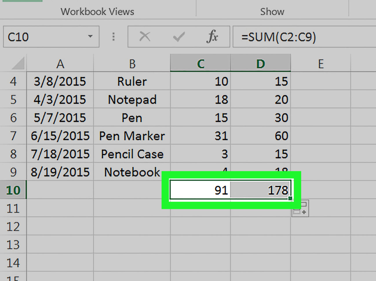 Quantity Surveyor Excel Spreadsheets With How To Drag And