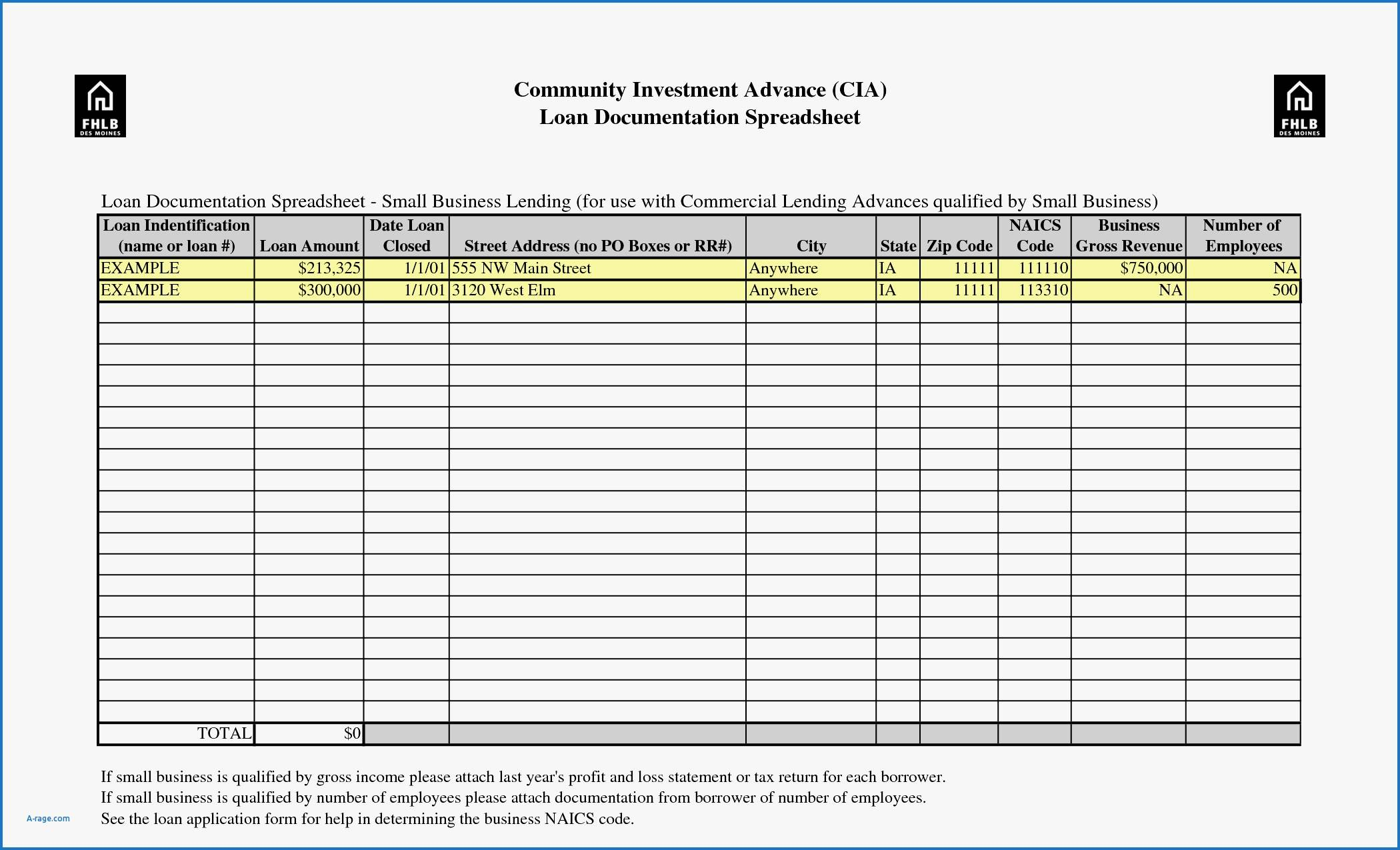 Receipt Spreadsheet Template In Spreadsheet For Taxes