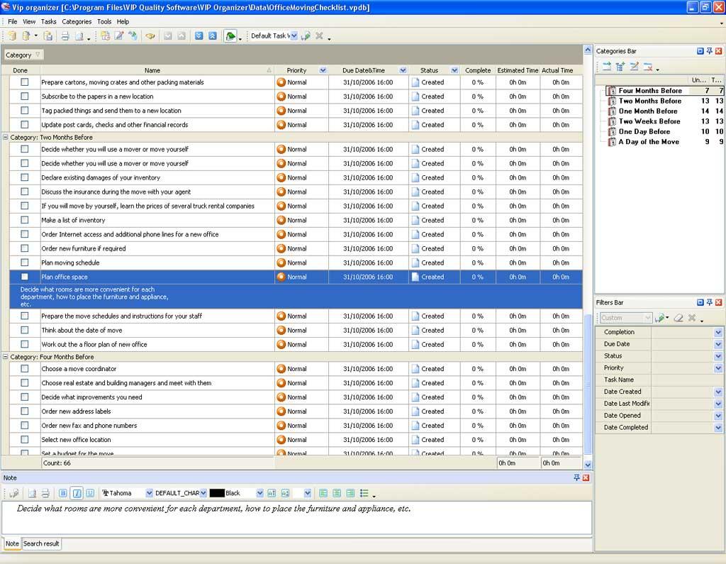 Relocation Spreadsheet Regarding Moving Office Checklist