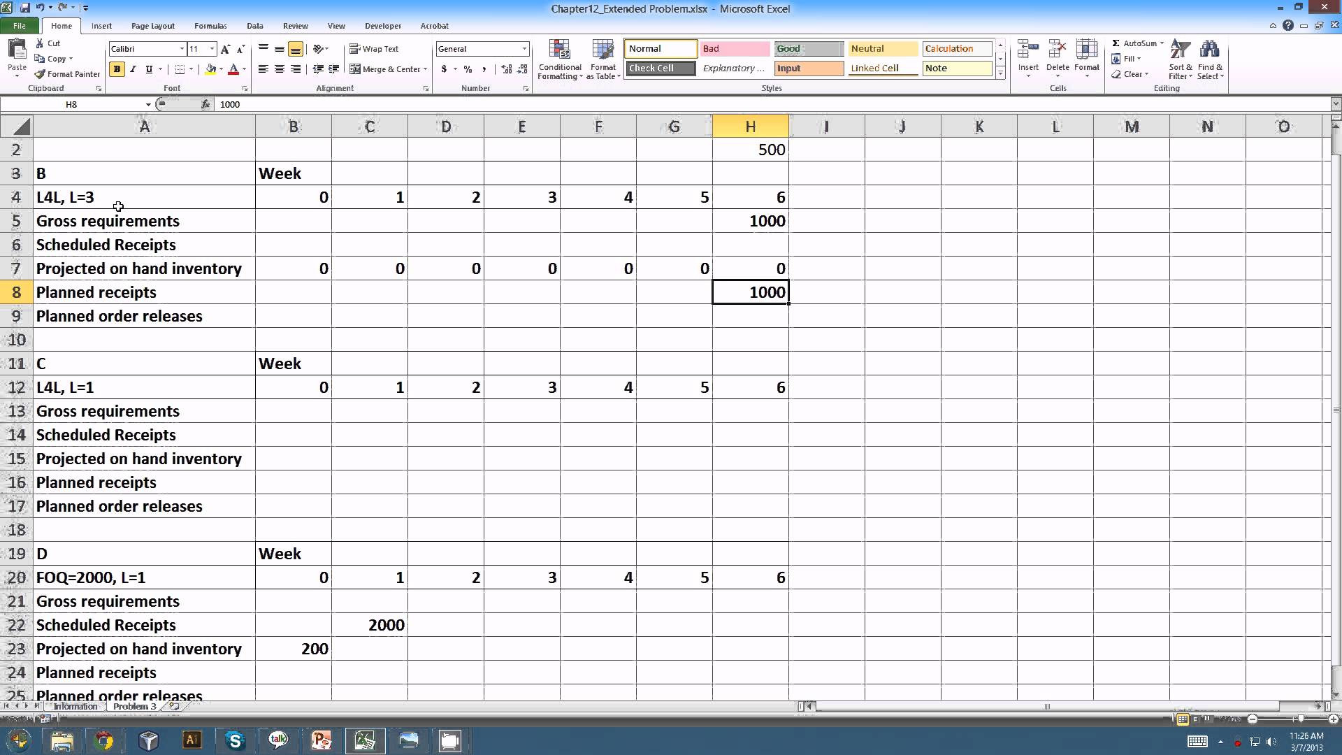Resource Allocation Spreadsheet In Resource Allocation