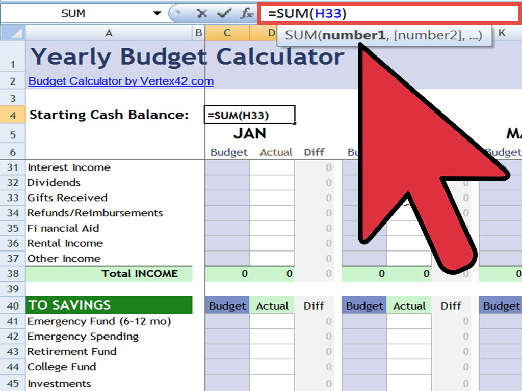 Retirement Income Calculator Spreadsheet With How To