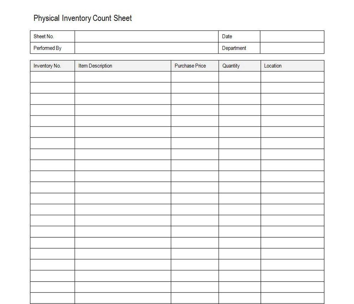 Sample Liquor Inventory Spreadsheet With Regard To Liquor