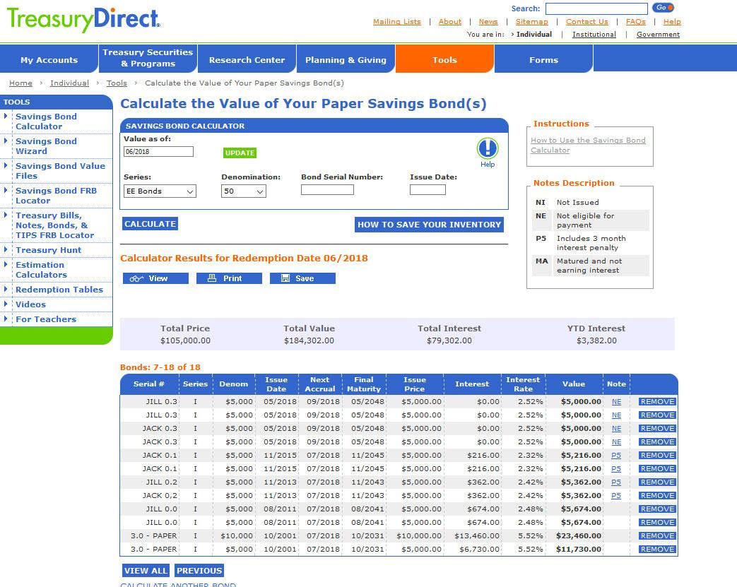 Savings Bond Spreadsheet Spreadsheet Downloa Savings Bond