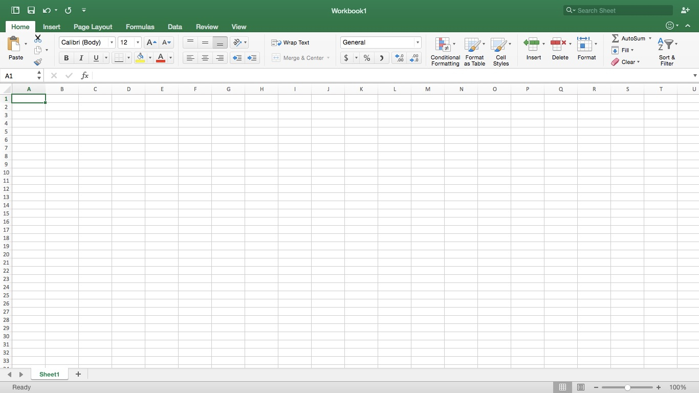 Simple Project Management Spreadsheet
