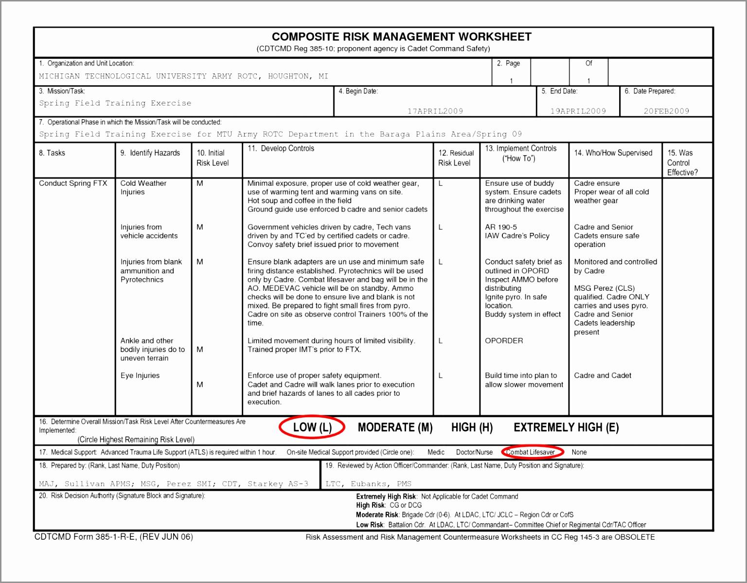 Spreadsheet Assessment Task