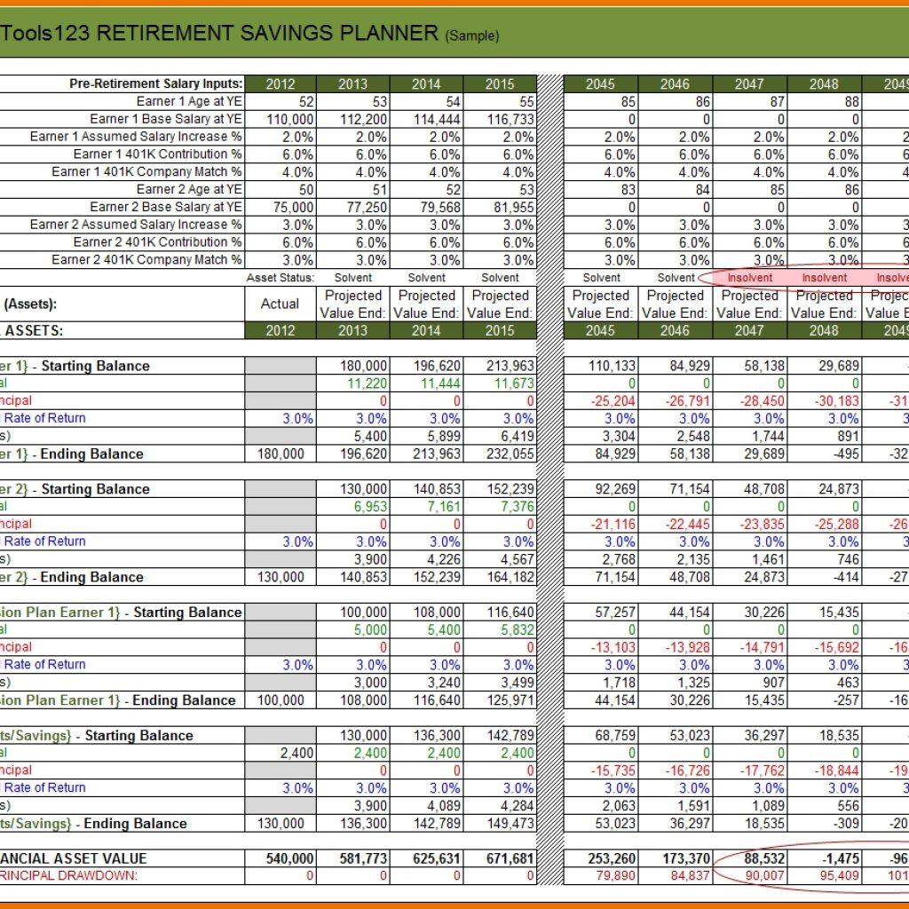 Spreadsheet Retirement Planning For Retirement Budget Worksheet Passetstatus Scope Of Work