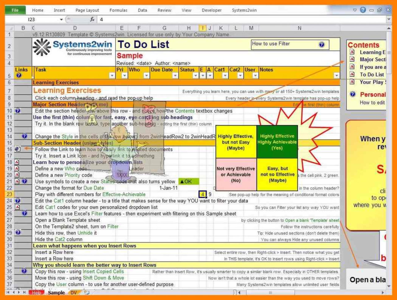 Spreadsheet To Do List In 004 Excel To Do List Template Ic