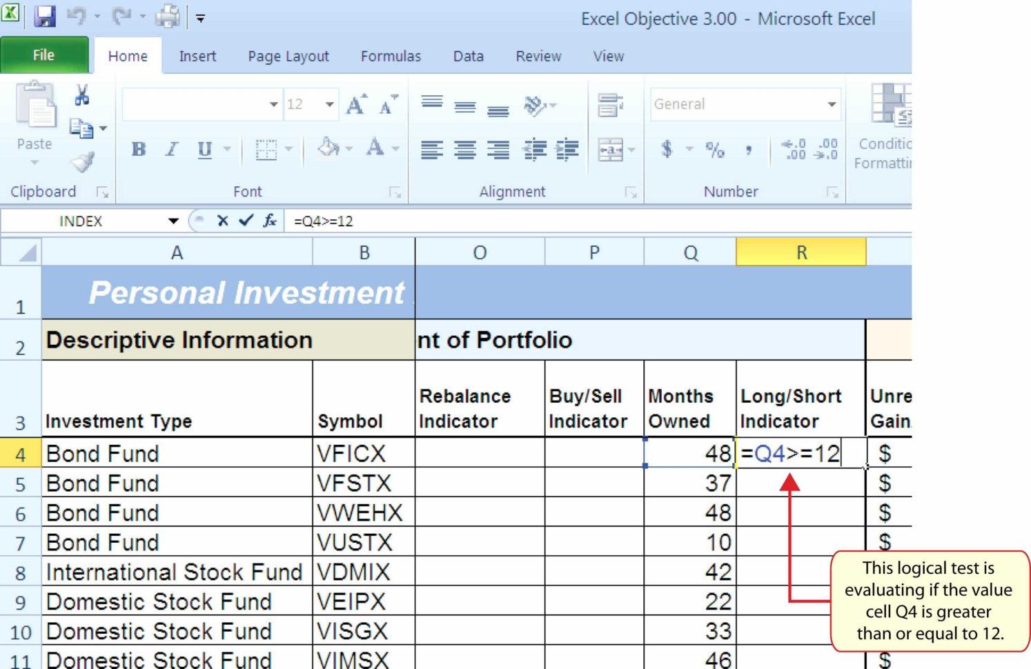 Stock Portfolio Excel Spreadsheet Download Within
