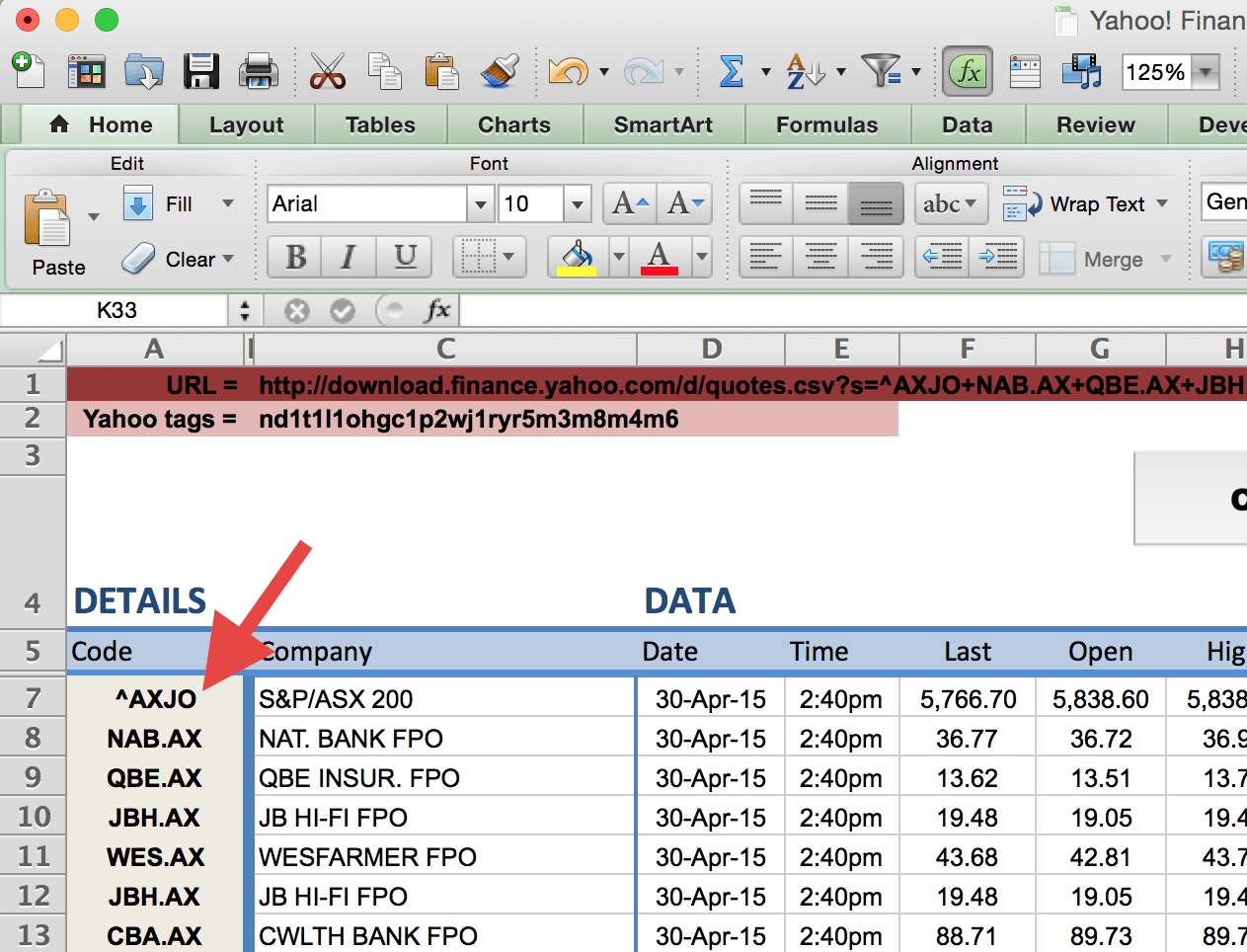 Stock Valuation Spreadsheet Pertaining To How To Import