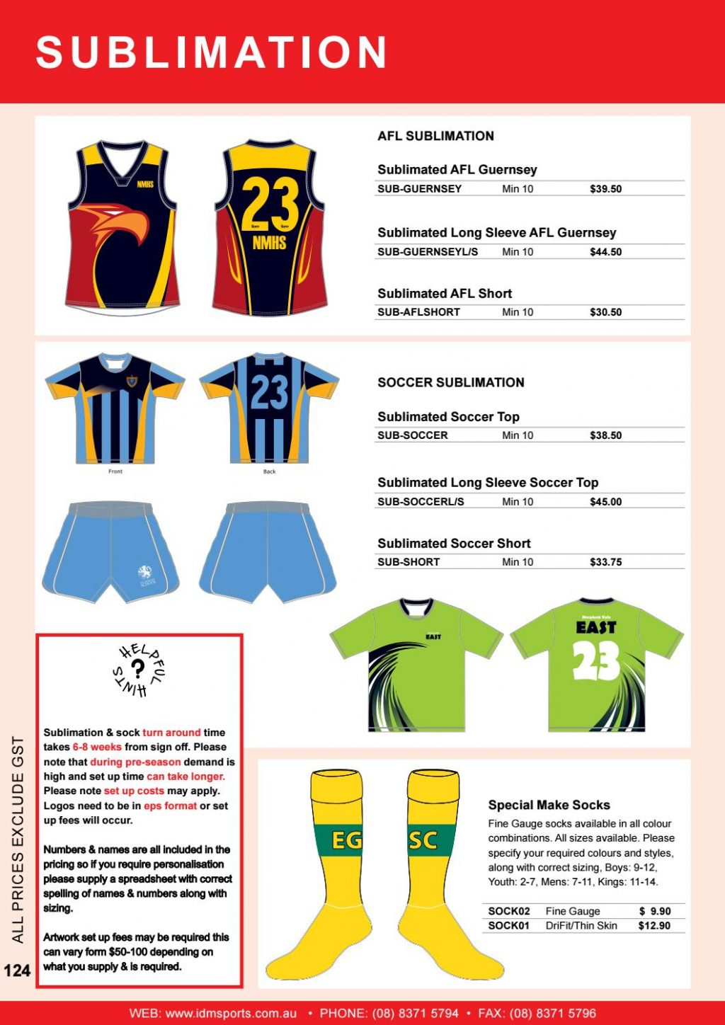 Sublimation Pricing Spreadsheet Spreadshee