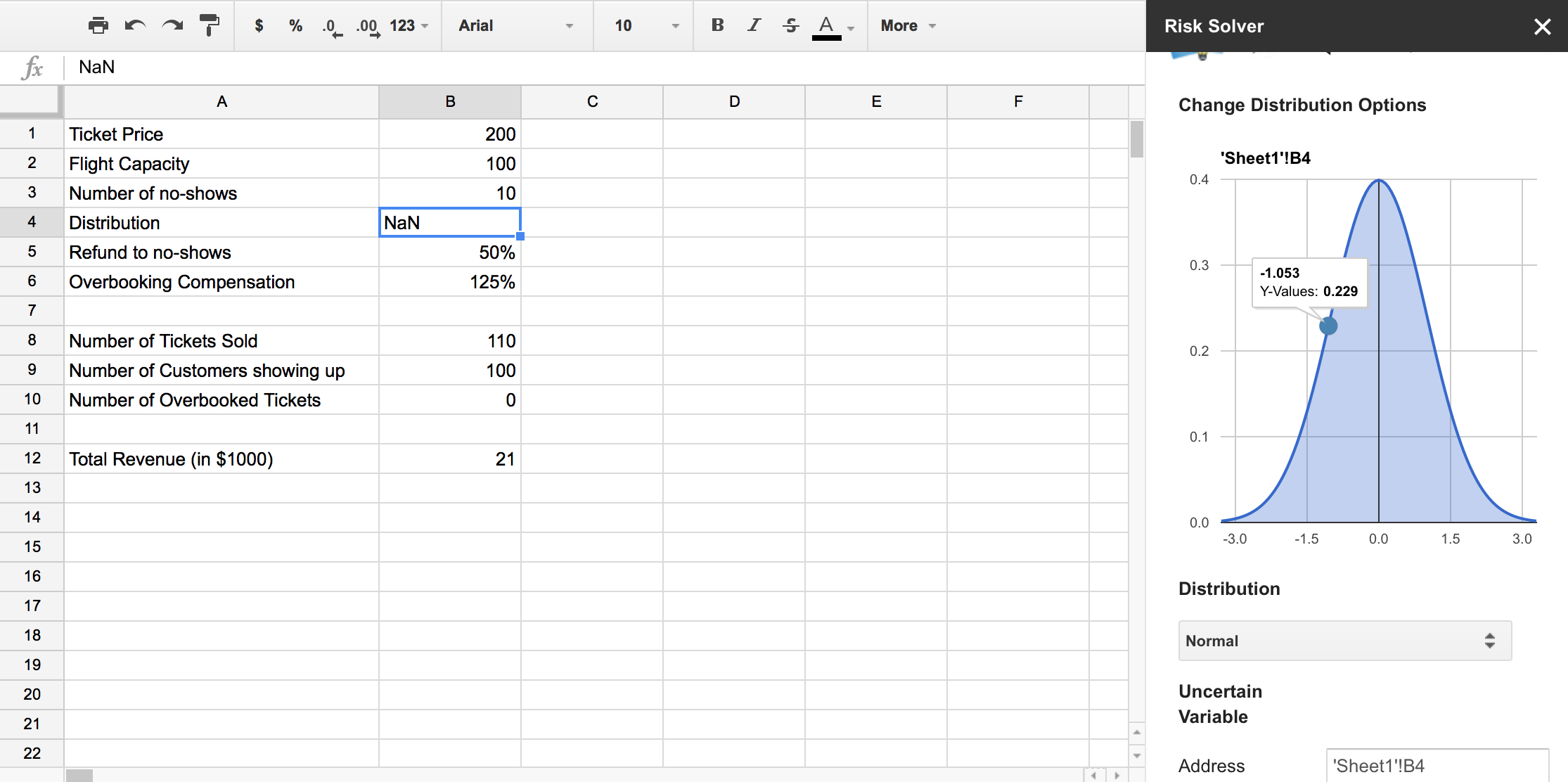 Tip Distribution Spreadsheet With Regard To 50