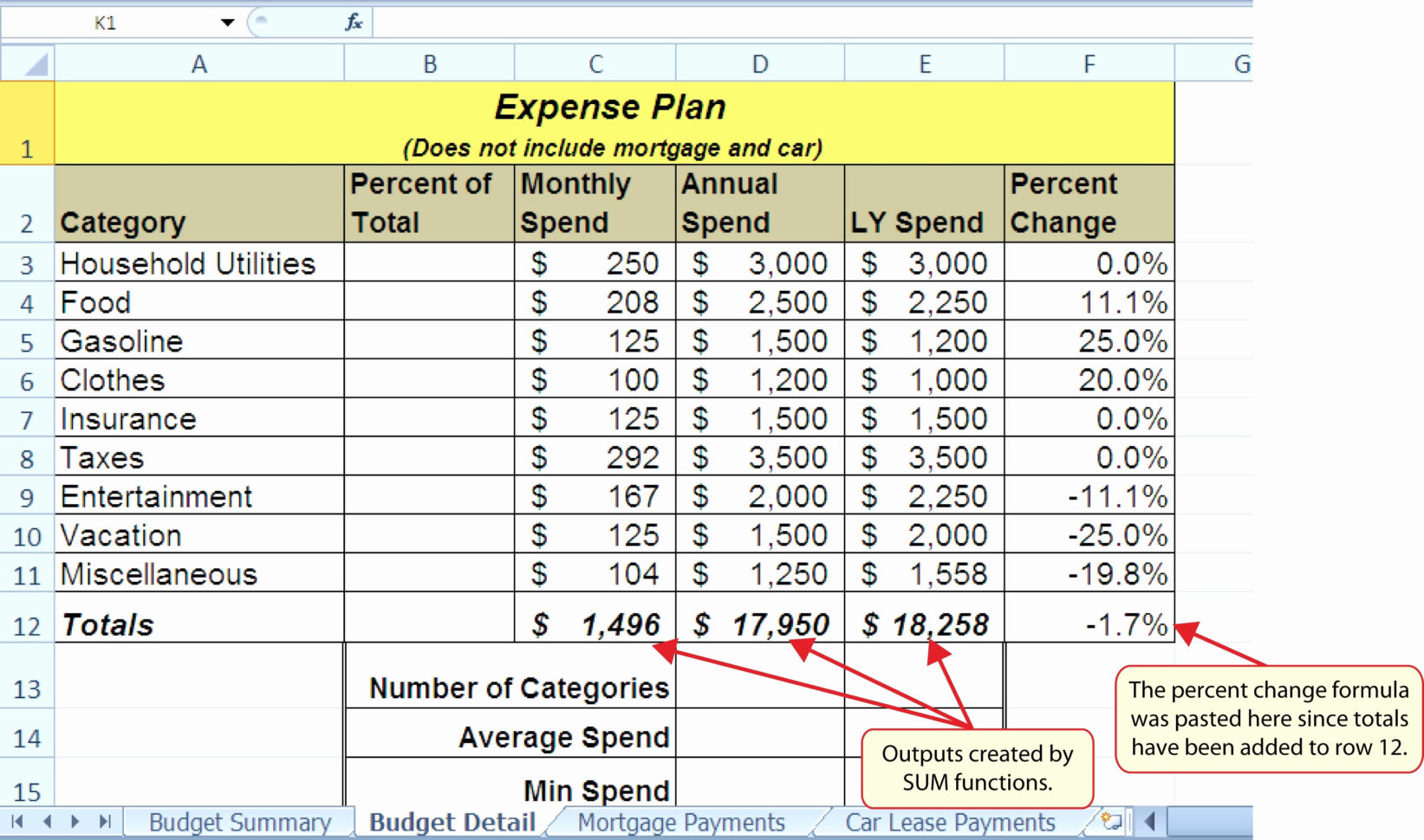 Utility Accrual Spreadsheet With Regard To Vacation