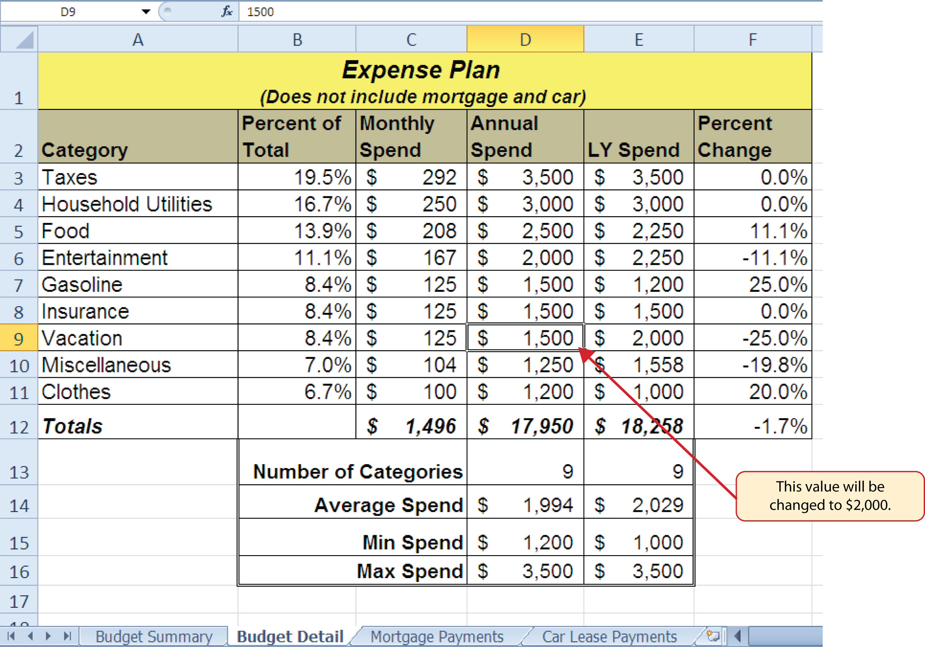 Spreadsheet Template Page 379 Vacation Rental Spreadsheet