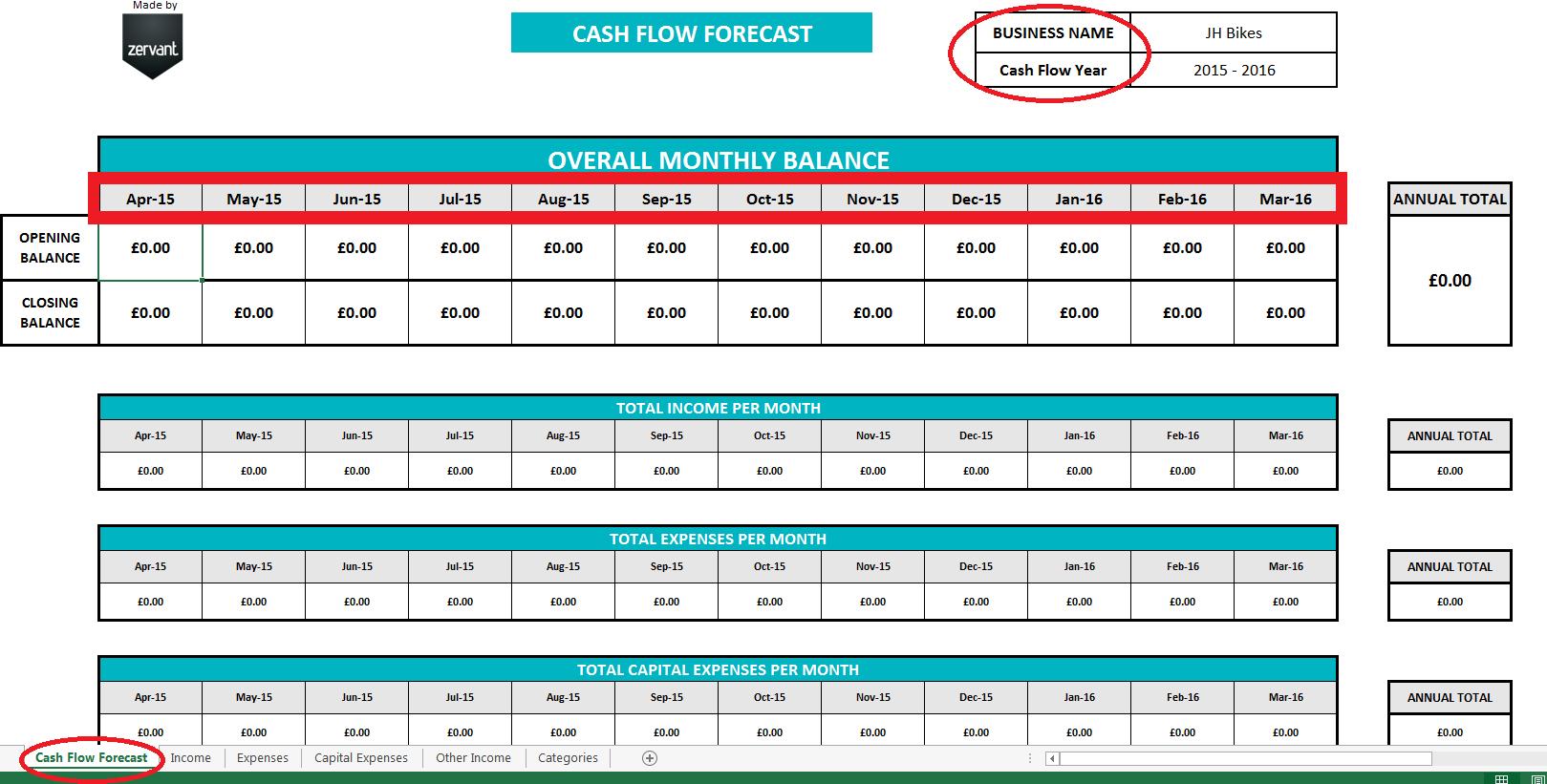 Weekly Cash Flow Forecast Spreadsheet Within Free Uk Cash