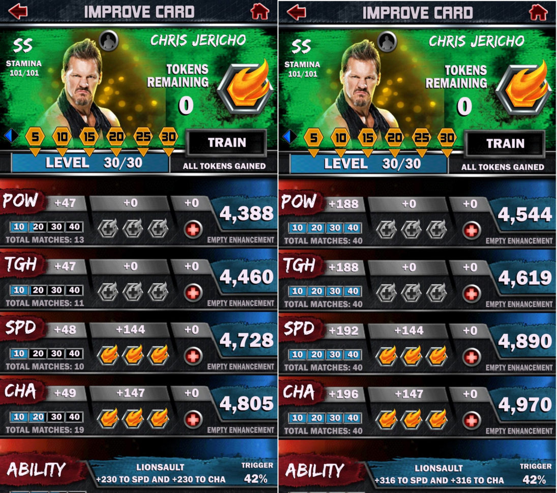 Wwe Supercard Stats Spreadsheet For Noob Question Same