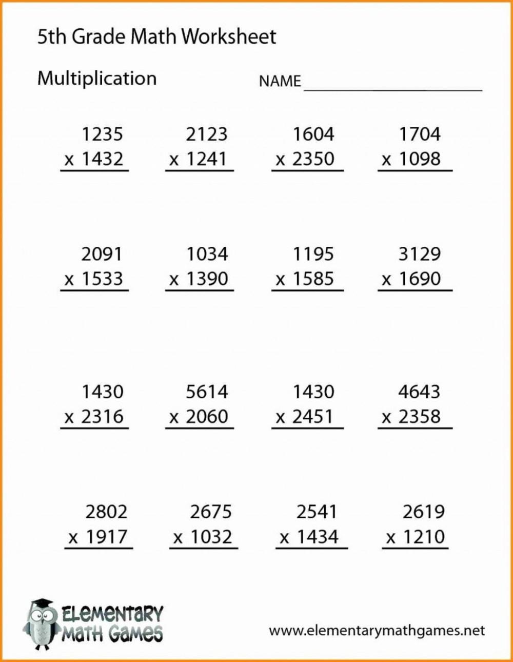 medium resolution of 5th Grade Word Problems Printable Worksheets   Printable Worksheets and  Activities for Teachers