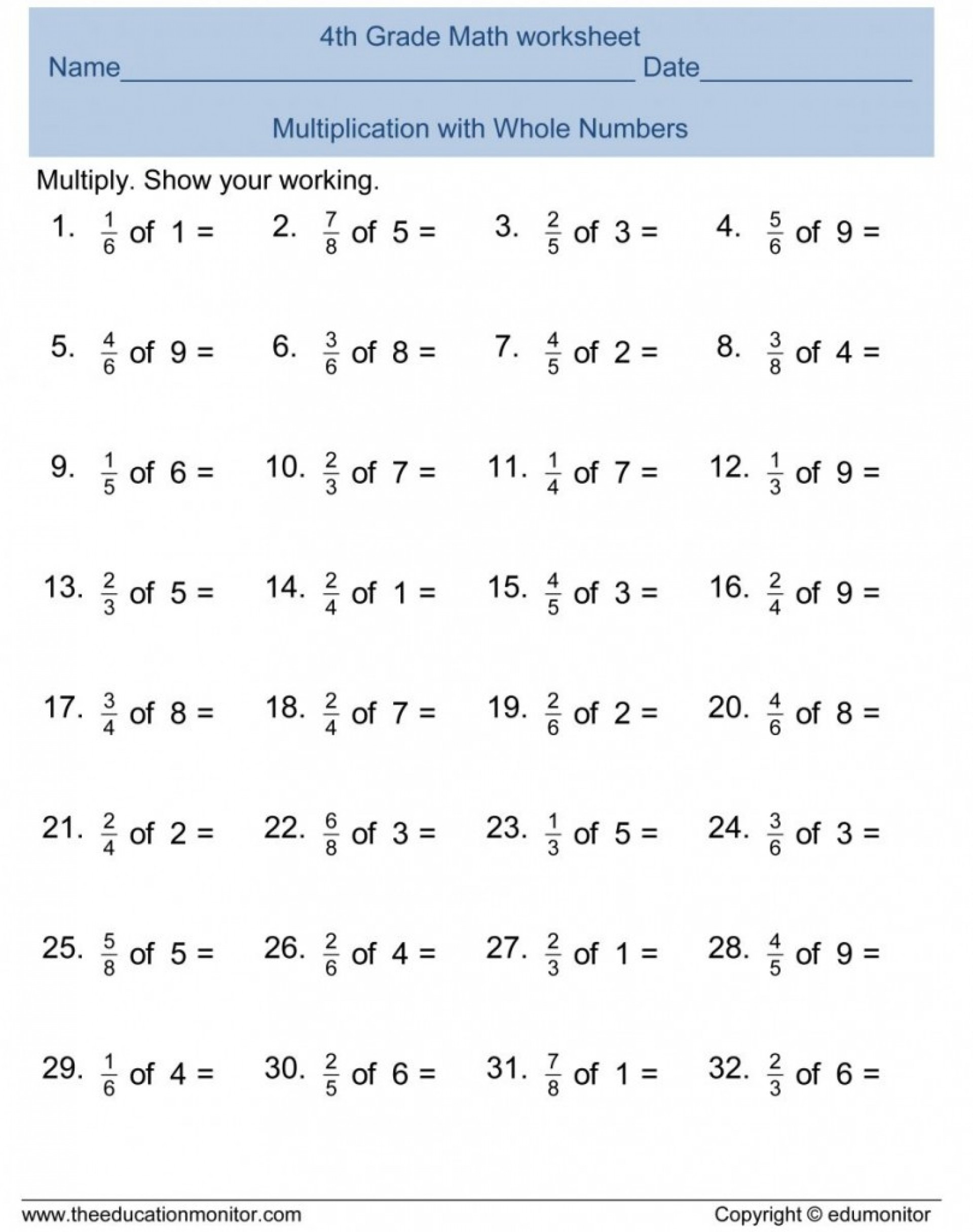 021 Free Printable Math Word Problems 7th Grade Integer