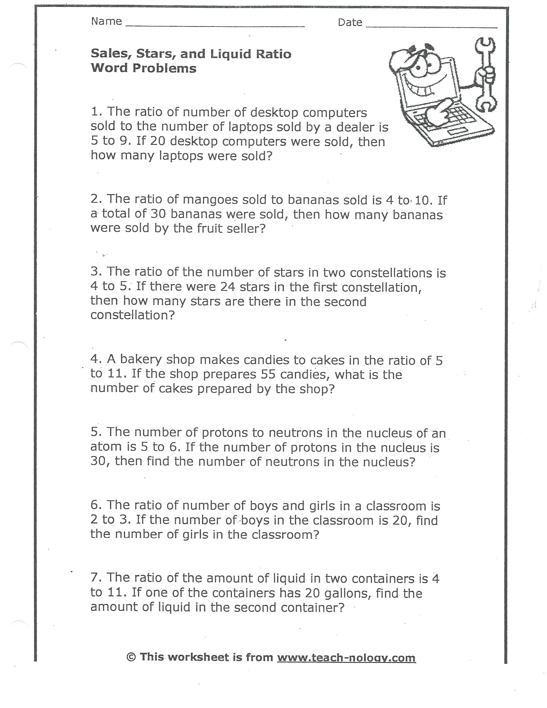 025 Free Printable Math Word Problems 7th Grade For
