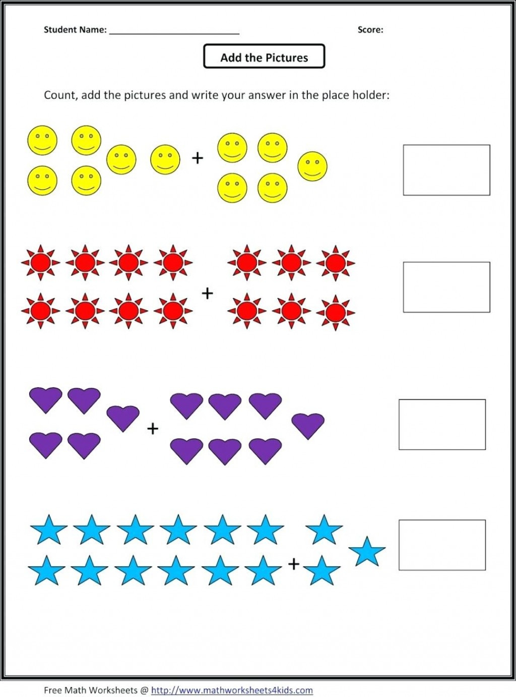 027 Math Worksheet Fun Picture Kid Awesome Worksheets