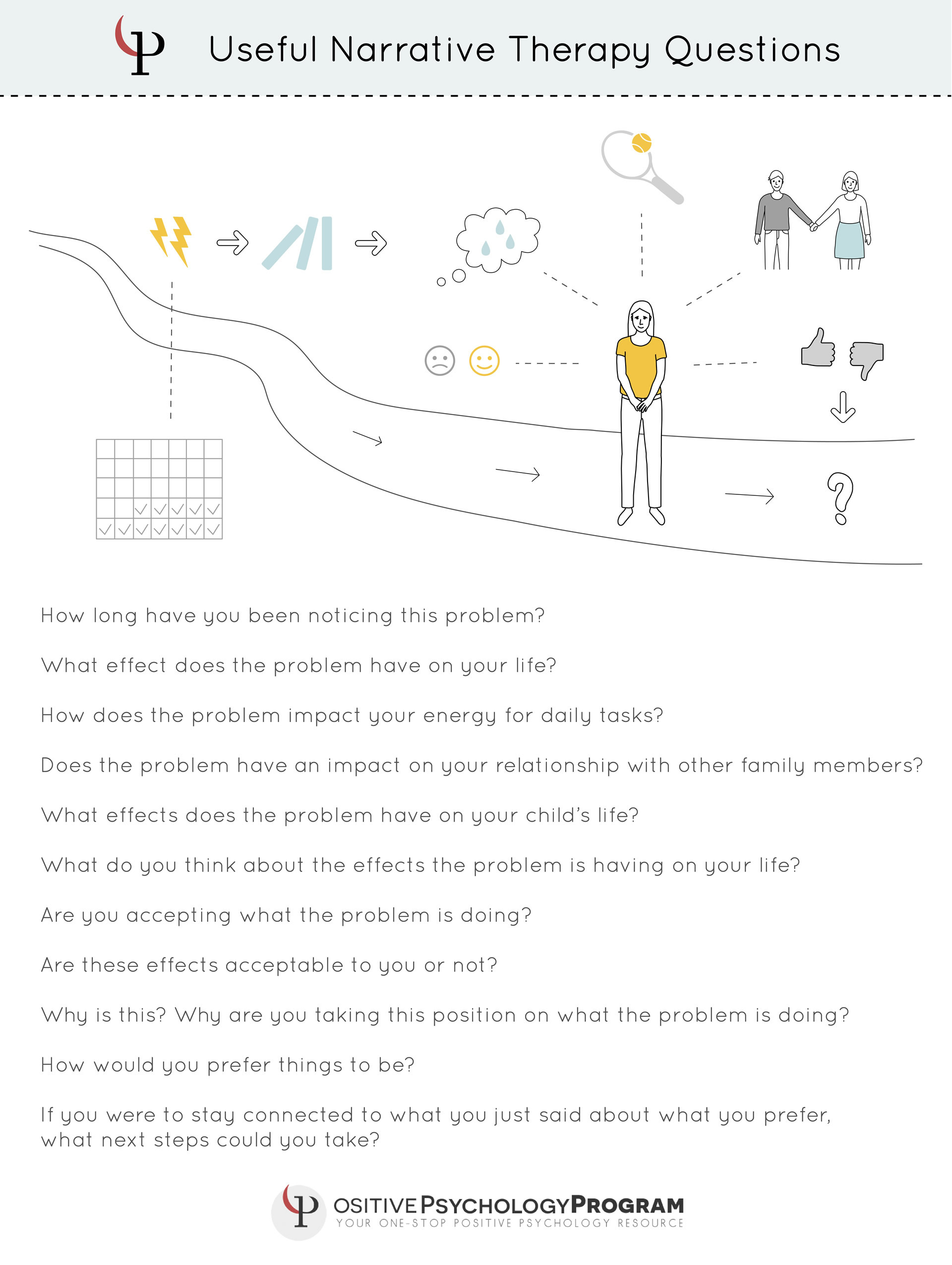 19 Narrative Therapy Techniques Interventions Worksheets