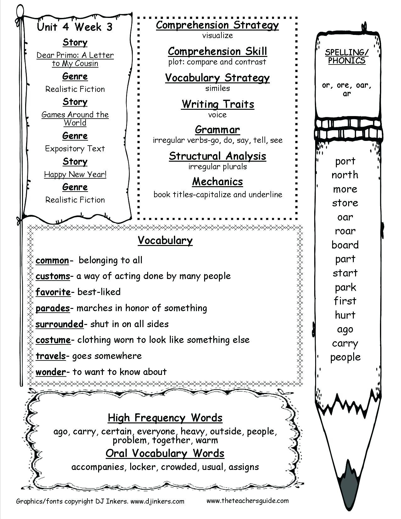 hight resolution of 2nd Grade Grammar Fix Worksheets   Printable Worksheets and Activities for  Teachers