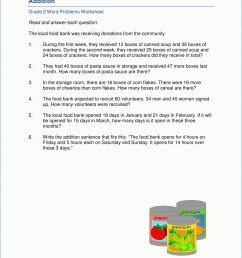Money Problems Worksheets   Printable Worksheets and Activities for  Teachers [ 2484 x 1920 Pixel ]