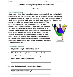 2nd Grade Reading Worksheets Vocabulary   Printable Worksheets and  Activities for Teachers [ 2200 x 1700 Pixel ]