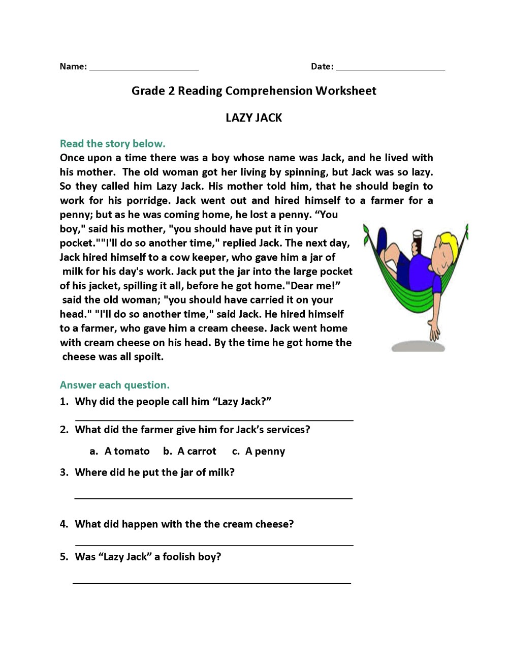 medium resolution of 2nd Grade Reading Worksheets Vocabulary   Printable Worksheets and  Activities for Teachers