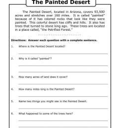 Nonfiction Worksheet For 3rd Grade   Printable Worksheets and Activities  for Teachers [ 1024 x 1024 Pixel ]