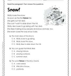 3rd Grade Language Worksheets Pdf   Printable Worksheets and Activities for  Teachers [ 3263 x 2513 Pixel ]