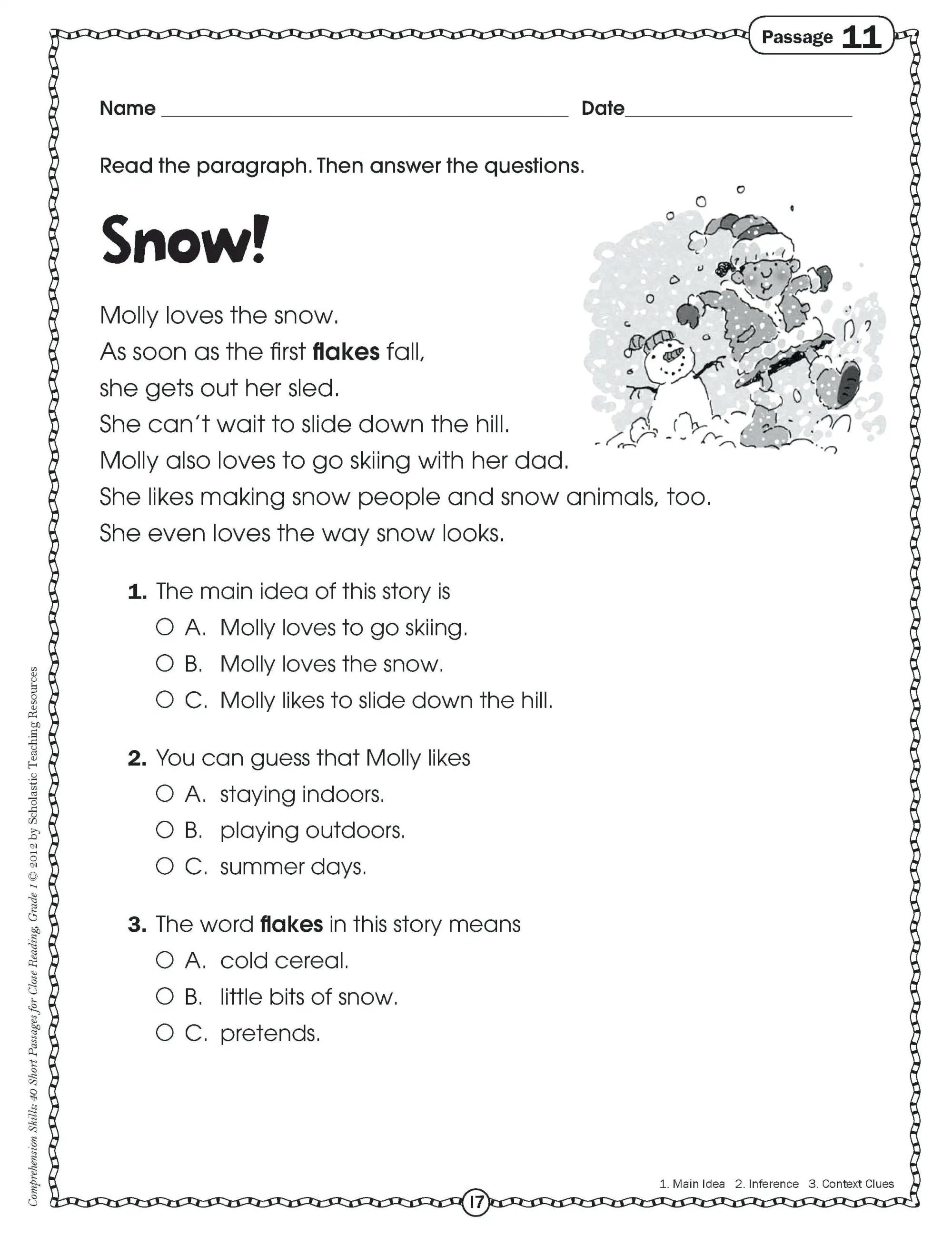 hight resolution of 3rd Grade Language Worksheets Pdf   Printable Worksheets and Activities for  Teachers
