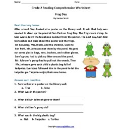 4th Grade Reading Comprehension Worksheets   Printable Worksheets and  Activities for Teachers [ 2200 x 1700 Pixel ]