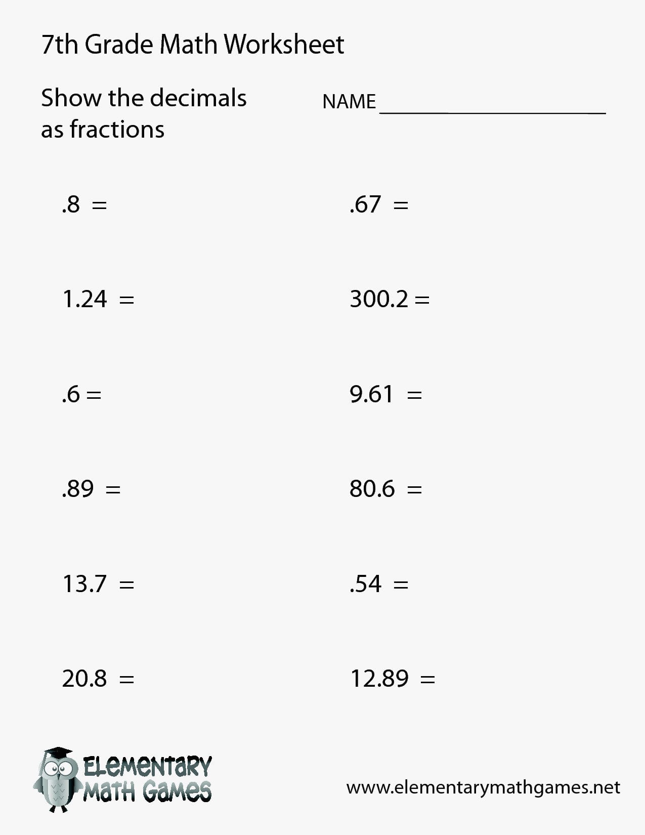 hight resolution of Eureka Math Worksheets 7th   Printable Worksheets and Activities for  Teachers