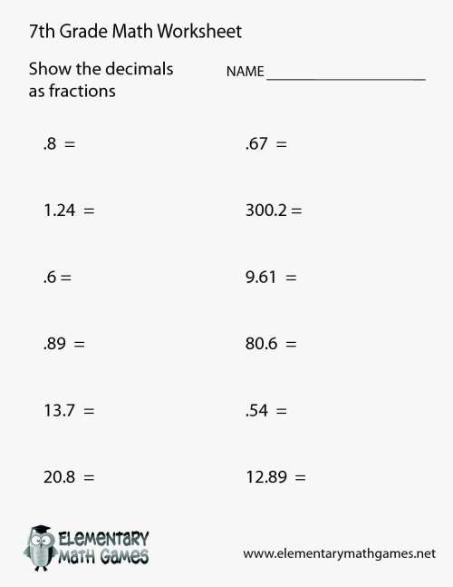 small resolution of Eureka Math Worksheets 7th   Printable Worksheets and Activities for  Teachers