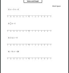 Inequalities Worksheets For 9th Grade Algebra   Printable Worksheets and  Activities for Teachers [ 2697 x 1997 Pixel ]