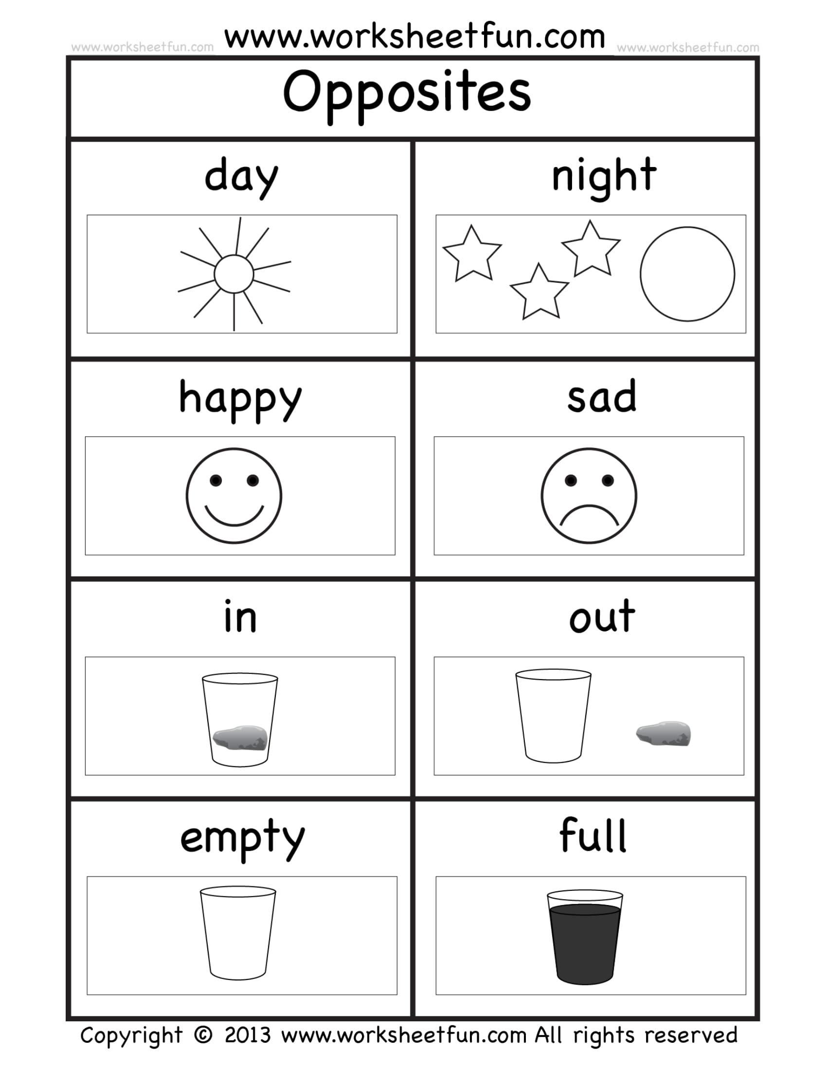Kindergarten Worksheets Db Excel