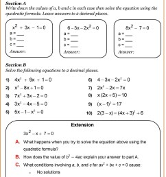 Algebra Nation Worksheet   Printable Worksheets and Activities for  Teachers [ 2065 x 1440 Pixel ]