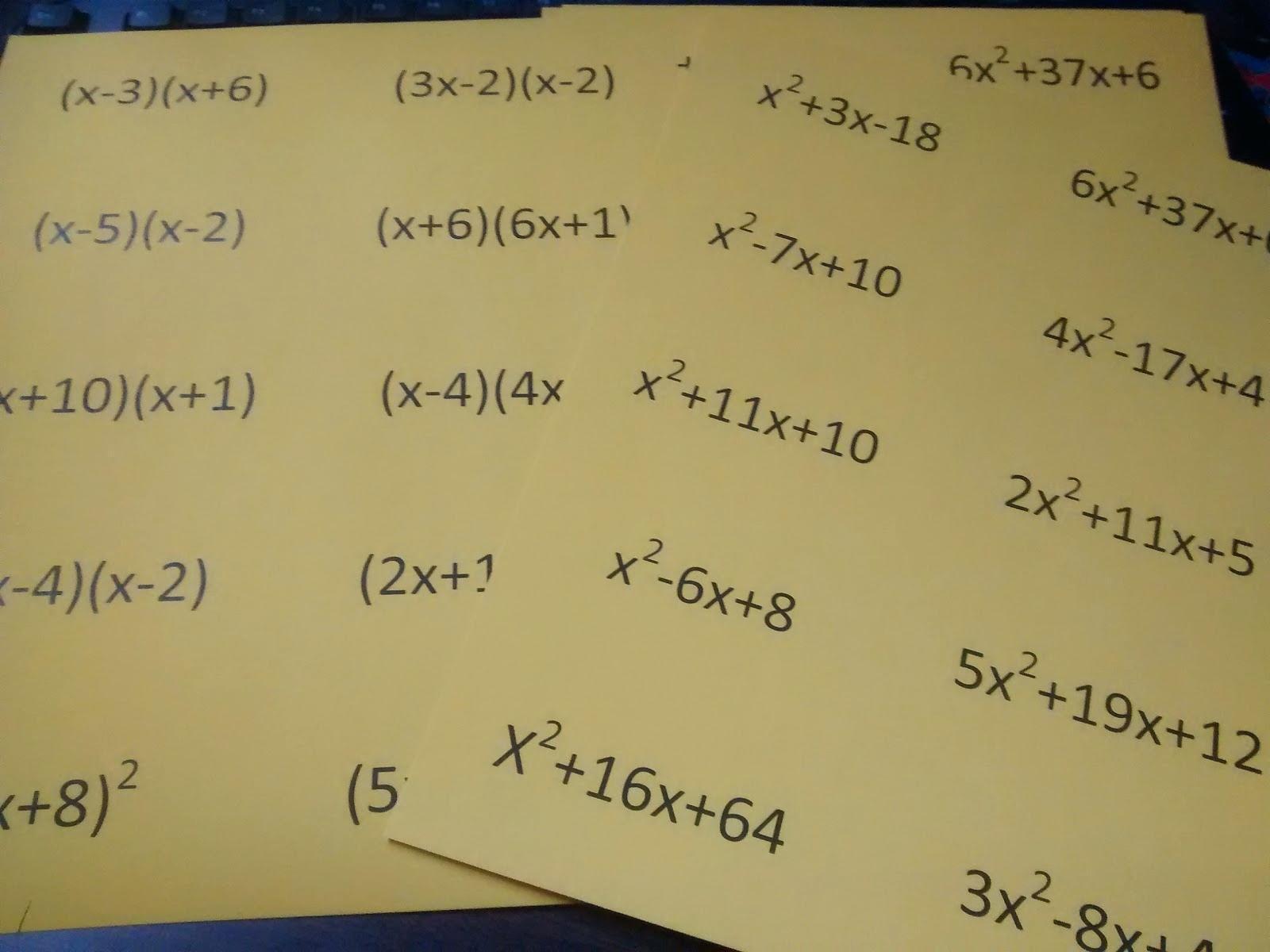 Algebra 2 Factoring Worksheet Math Solving Rational