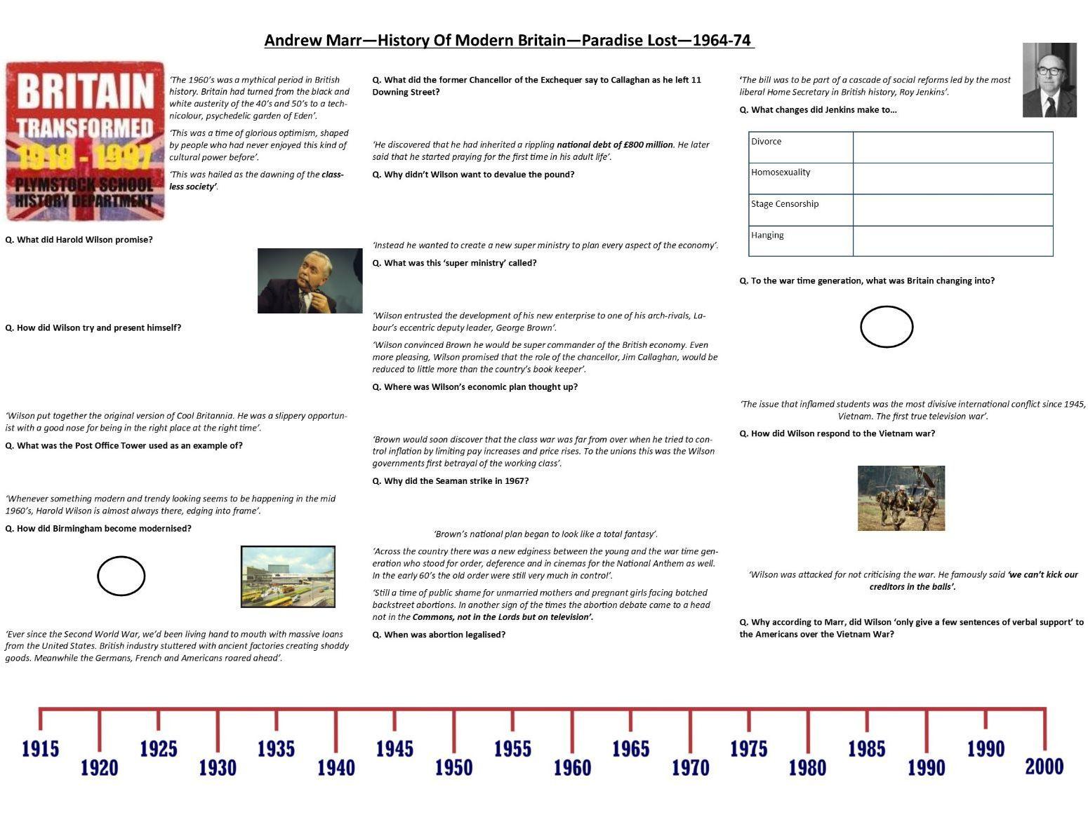 Andrew Marr History Of Modern Britain Advance Britannia