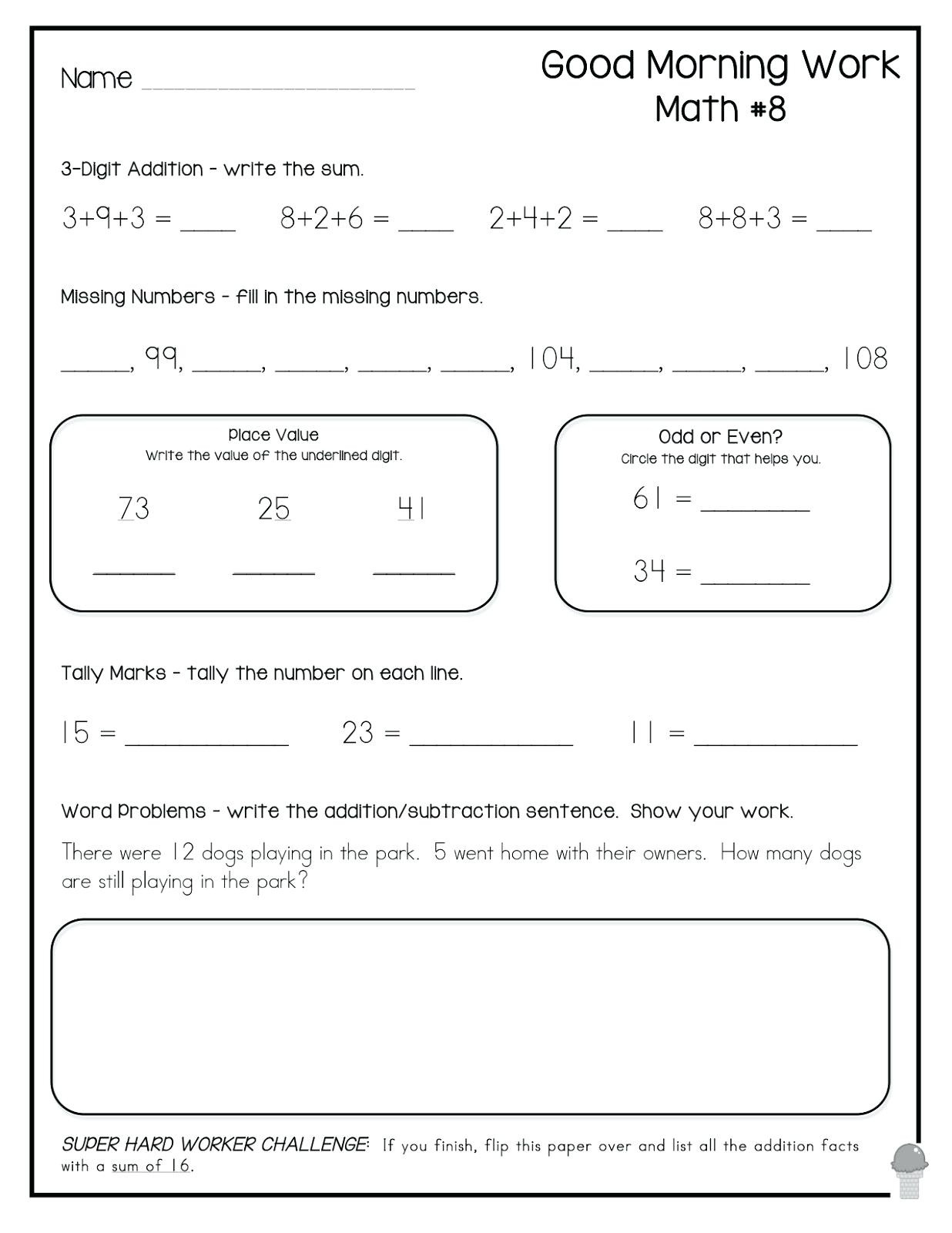 Brain Game Worksheets Printable Brain Game Worksheets