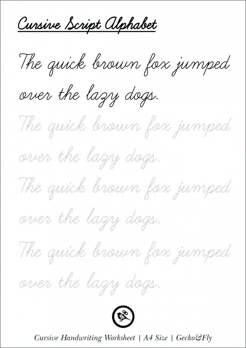 Breathtaking Cursive Words Printables Printable Word How