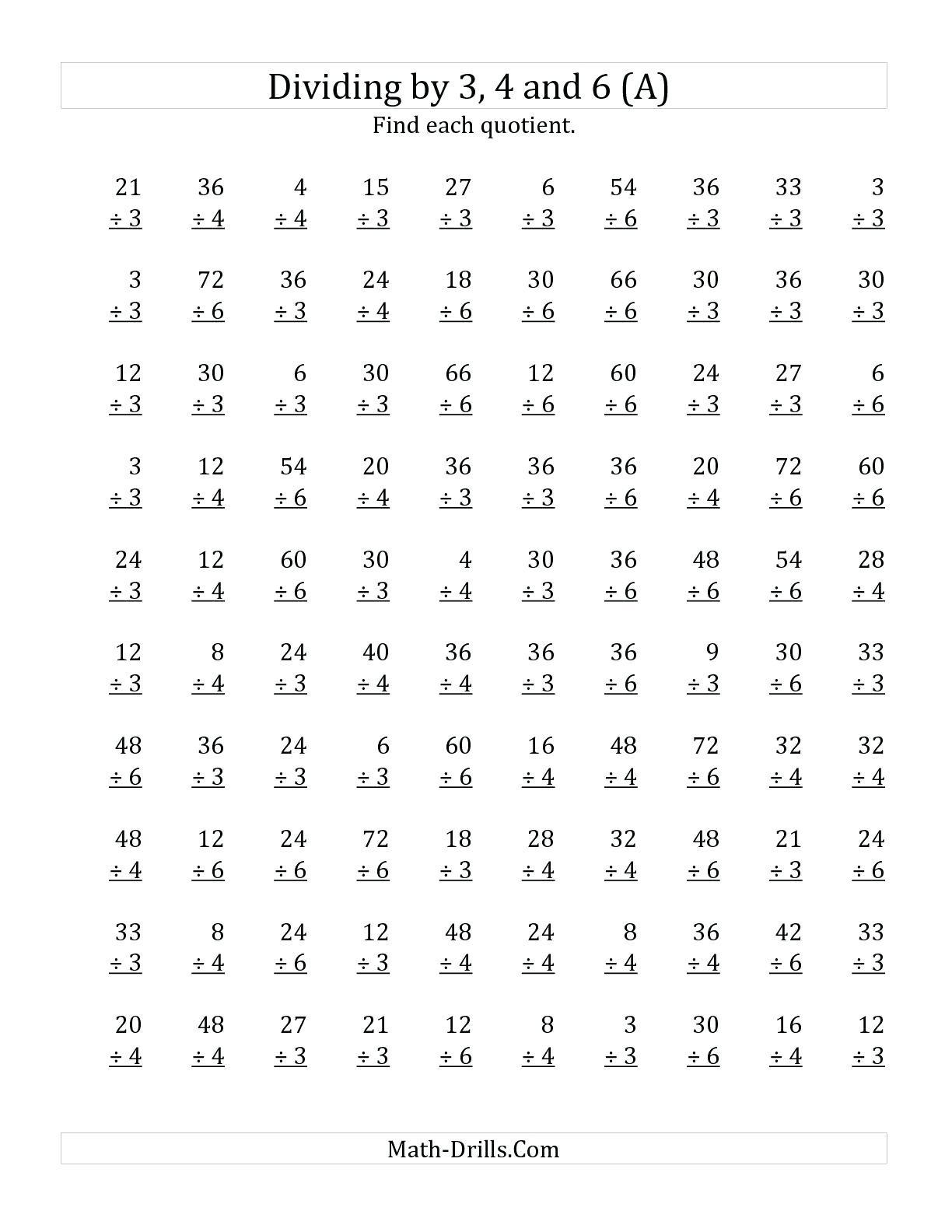 Printable 6th Grade Math Worksheets