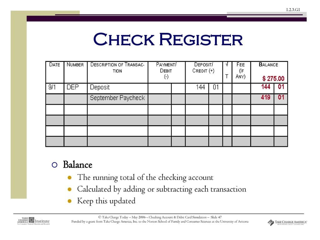 Checking Account Debit Card Simulation Ppt Download