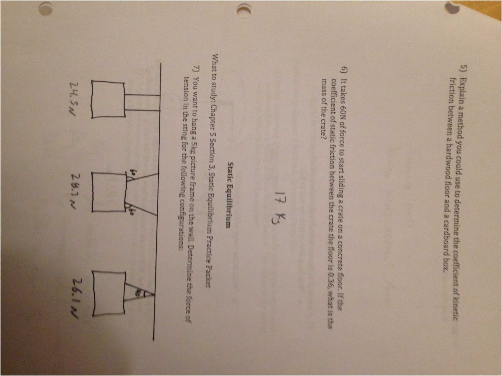 Concentrations Chemistry Worksheet Answers