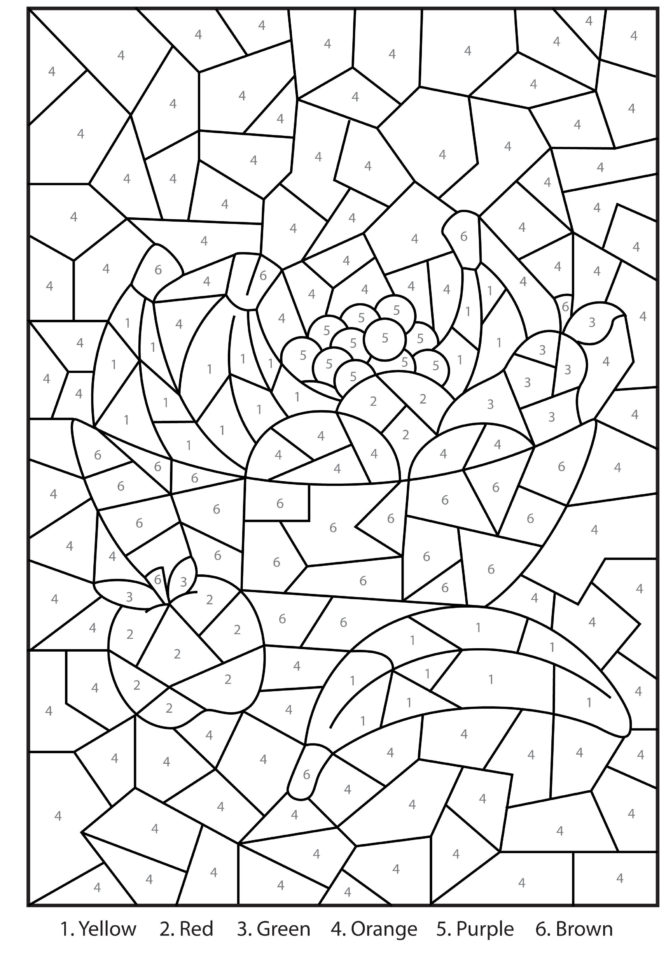Coloring Coloring 17 Colornumber Christmas Worksheets — db