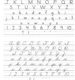Cursive Worksheet In Filipino   Printable Worksheets and Activities for  Teachers [ 1823 x 1400 Pixel ]