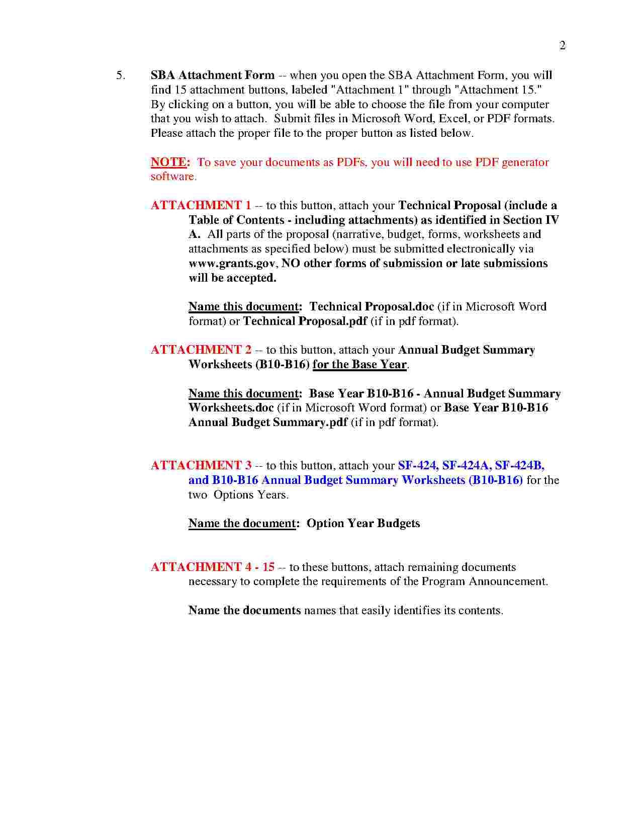 Proposal Worksheet Template 2